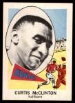 1961 Nu-Card #131  Curtis McClinton  Front Thumbnail