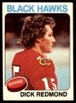 1975 O-Pee-Chee NHL #218  Dick Redmond  Front Thumbnail