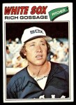 1977 Topps #319  Goose Gossage  Front Thumbnail
