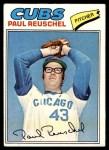 1977 Topps #333  Paul Reuschel  Front Thumbnail