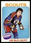 1975 O-Pee-Chee NHL #14  Jim McElmury  Front Thumbnail