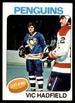 1975 O-Pee-Chee NHL #165  Vic Hadfield  Front Thumbnail