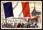1956 Topps Flags of the World #40   France Front Thumbnail