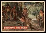 1956 Topps Davy Crockett Orange Back #32   Breaking the Hold  Front Thumbnail