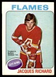 1975 O-Pee-Chee NHL #117  Jacques Richard  Front Thumbnail