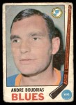 1969 O-Pee-Chee #16  Andre Boudrias  Front Thumbnail