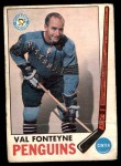 1969 O-Pee-Chee #119  Val Fonteyne  Front Thumbnail