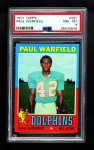 1971 Topps #261  Paul Warfield  Front Thumbnail
