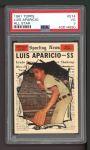 1961 Topps #574   -  Luis Aparicio All-Star Front Thumbnail