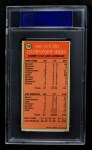 1970 Topps #170   -  Dave Debusschere  1969-70 NBA Championship - Game 3 Back Thumbnail
