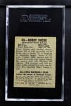 1948 Leaf #83  Bobby Doerr   Back Thumbnail