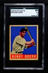 1948 Leaf #83  Bobby Doerr   Front Thumbnail