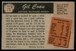 1955 Bowman #78  Gil Coan  Back Thumbnail