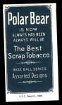 1909 T206 Reprint #130 FLD Mike Donlin  Back Thumbnail