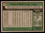 1979 Topps #300  Rod Carew  Back Thumbnail