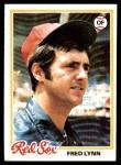 1978 Topps #320  Fred Lynn  Front Thumbnail