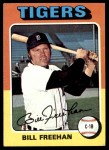 1975 Topps #397  Bill Freehan  Front Thumbnail