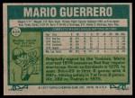 1977 Topps #628  Mario Guerrero  Back Thumbnail