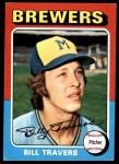 1975 Topps #488  Bill Travers  Front Thumbnail