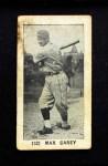 1928 Game Backs #32    -  Max Carey   Front Thumbnail