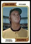 1974 Topps #173 SD Randy Jones  Front Thumbnail