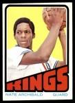1972 Topps #115  Nate Archibald   Front Thumbnail