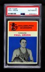 1961 Fleer #2  Paul Arizin  Front Thumbnail