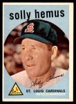 1959 Topps #527  Solly Hemus  Front Thumbnail