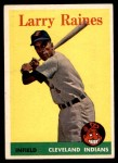 1958 Topps #243  Larry Raines  Front Thumbnail