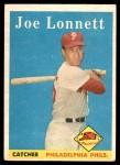 1958 Topps #64  Joe Lonnett  Front Thumbnail