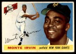 1955 Topps #100  Monte Irvin  Front Thumbnail