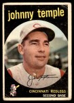 1959 Topps #335  Johnny Temple  Front Thumbnail