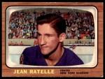 1966 Topps #29  Jean Ratelle  Front Thumbnail