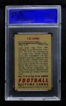1951 Bowman #119  Vic Sears  Back Thumbnail