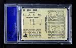 1961 Bell Brand Dodgers #11  Bob Lillis  Back Thumbnail