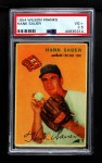 1954 Wilson Franks  Hank Sauer  Front Thumbnail