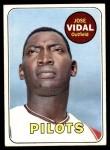1969 Topps #322  Jose Vidal  Front Thumbnail