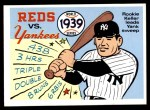 1970 Fleer World Series #36   1939 Yankees vs. Reds Front Thumbnail