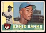 1960 Topps #10  Ernie Banks  Front Thumbnail