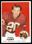 1969 Topps #243  Bobby Hunt  Front Thumbnail