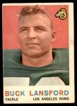 1959 Topps #152  Buck Lansford  Front Thumbnail