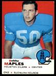 1969 Topps #19  Bobby Maples  Front Thumbnail