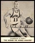 1960 Kahn's #1  Arlen Bockhorn  Front Thumbnail