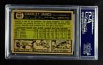 1961 Topps #561  Charlie James  Back Thumbnail