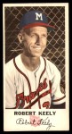 1954 Johnston Cookies #35  Bob Keely  Front Thumbnail