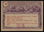 1959 Topps / Bubbles Inc You'll Die Laughing #18   I've got just the gift Back Thumbnail