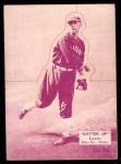 1934 Batter Up #36  Ted Lyons   Front Thumbnail