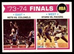 1974 Topps #248   ABA Finals Front Thumbnail