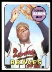 1969 Topps #128  Tommie Aaron  Front Thumbnail