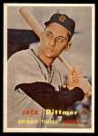 1957 Topps #282  Jack Dittmer  Front Thumbnail
